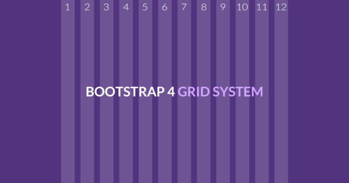 Bootstrap 4 - Grid System